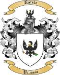 Ratzke Family Crest from Prussia