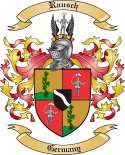 Rausch Family Crest from Germany