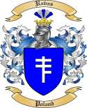 Ravas Family Crest from Poland