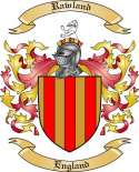Rawland Family Crest from England2