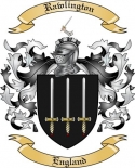 Rawlington Family Coat of Arms from England