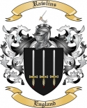 Rawlins Family Coat of Arms from England