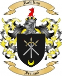 Rawlins Family Coat of Arms from Ireland