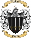 Rawlinson Family Crest from England