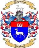 Raymond Family Coat of Arms from England