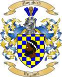 Raynbird Family Crest from England