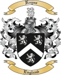 Rayne Family Crest from England