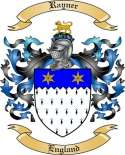 Rayner Family Crest from England