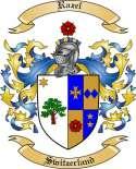 Razel Family Crest from Switzerland