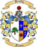 Razilly Family Crest from France
