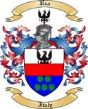 Rea Family Crest from Italy