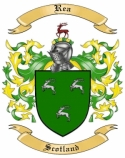 Rea Family Crest from Scotland