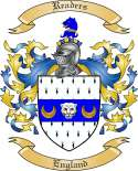 Readers Family Crest from England