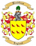 Readfern Family Crest from England