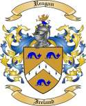 Reagan Family Crest from Ireland