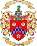 Reave Family Crest from England2