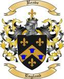Reave Family Coat of Arms from England