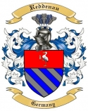 Reddenau Family Coat of Arms from Germany