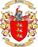 Reddin Family Coat of Arms from Scotland