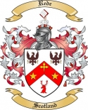 Rede Family Crest from Scotland2