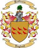 Redfearn Family Crest from England