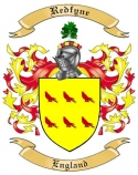 Redfyne Family Crest from England