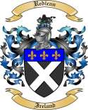 Redican Family Coat of Arms from Ireland