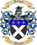 Redigan Family Crest from Ireland