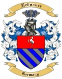 Rednauer Family Crest from Germany