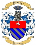 Rednour Family Coat of Arms from Germany