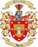 Redondela Family Coat of Arms from Spain