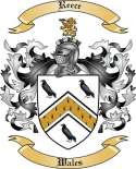 Reece Family Crest from Wales