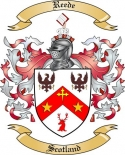Reede Family Crest from Scotland2