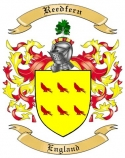 Reedfern Family Crest from England
