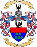 Reesi Family Crest from Italy