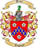 Reeve Family Crest from England2