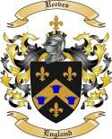 Reeves Family Crest from England