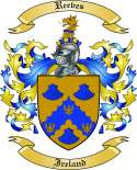 Reeves Family Crest from Ireland