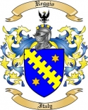 Reggio Family Coat of Arms from Italy
