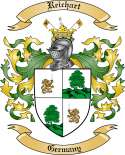 Reichart Family Crest from Germany