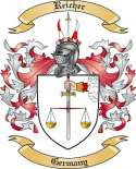 Reicher Family Crest from Germany2