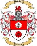 Reichers Family Crest from Germany