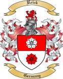Reick Family Crest from Germany
