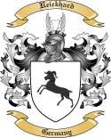 Reickhard Family Crest from Germany