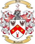 Reid Family Crest from Scotland2