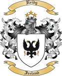 Reidy Family Crest from Ireland
