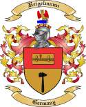 Reigelmann Family Crest from Germany