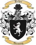 Reiher Family Crest from Germany