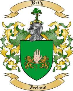 Reily Family Coat of Arms from Ireland