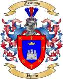 Reinoso Family Coat of Arms from Spain